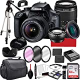 Canon EOS 4000D DSLR Camera with 18-55mm f/3.5-5.6 Zoom...