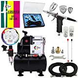 OPHIR Professional Airbrush Air Compressor 0.3mm,0.5mm,0.8mm...