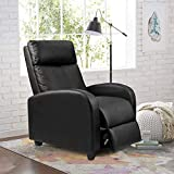 Homall Recliner Chair Padded Seat Pu Leather for Living Room...