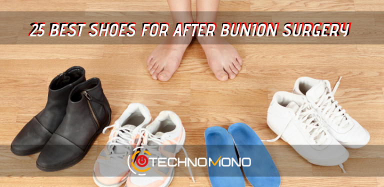 25 best shoes after bunion surgery