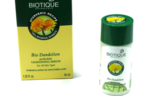 Biotique Bio Dandelion Skin Lightening Serum