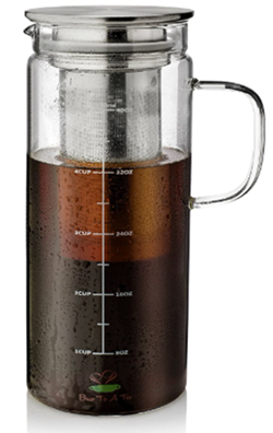 Btat cold brew system for coffee and tea