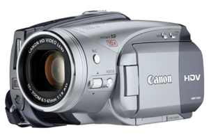 Canon hv20 refurbished camera