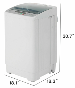 Giantex fullautomatic portable compact washing machine