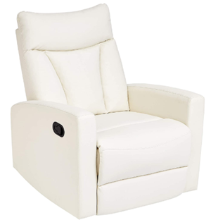 Jc home swivel glider recliner chair