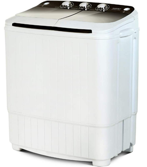 Kuppet portable compact washer and spinner