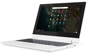 Lenovo chromebook c330 2 in 1 convertible laptop
