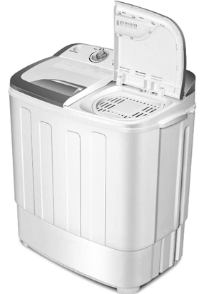 Safeplus portable washing machine and dryer
