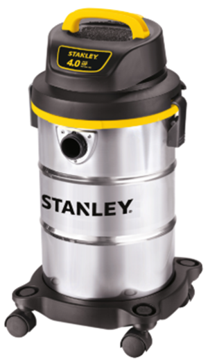Stanley 5 gallons 4HP wetdry carpet extractor