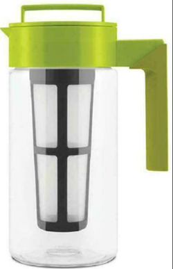 Takeya iced tea maker with patented flash chill features