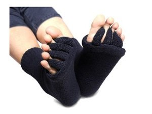 flesser toe separator socks for sports yoga