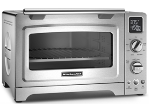 kitchenaid kco255bm countertop convection oven