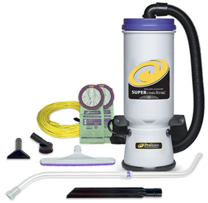 ProTeam Super Coachvac Backpack Vacuum