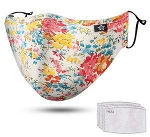spring season washable reusable dust mask