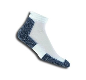 thorlos thin cushion walking ankle socks
